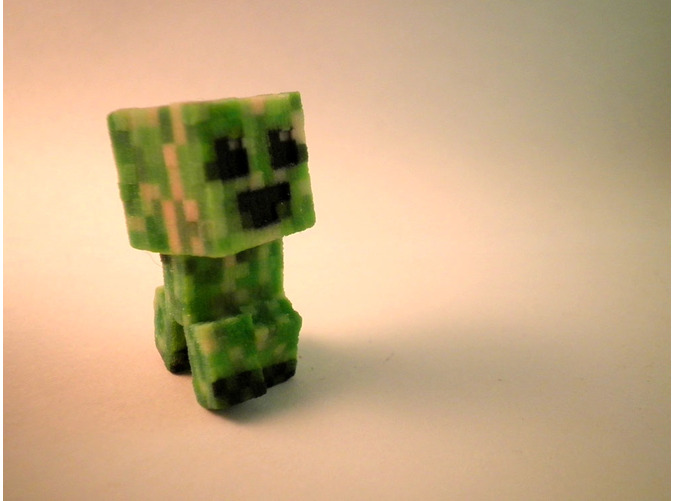 shapeways shops creeper minecraft