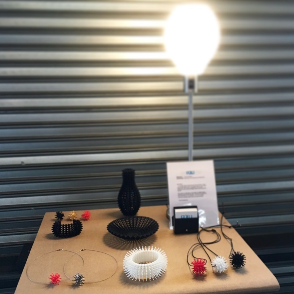 PULU designs at Dutch Design Week's Shapeways EXPO