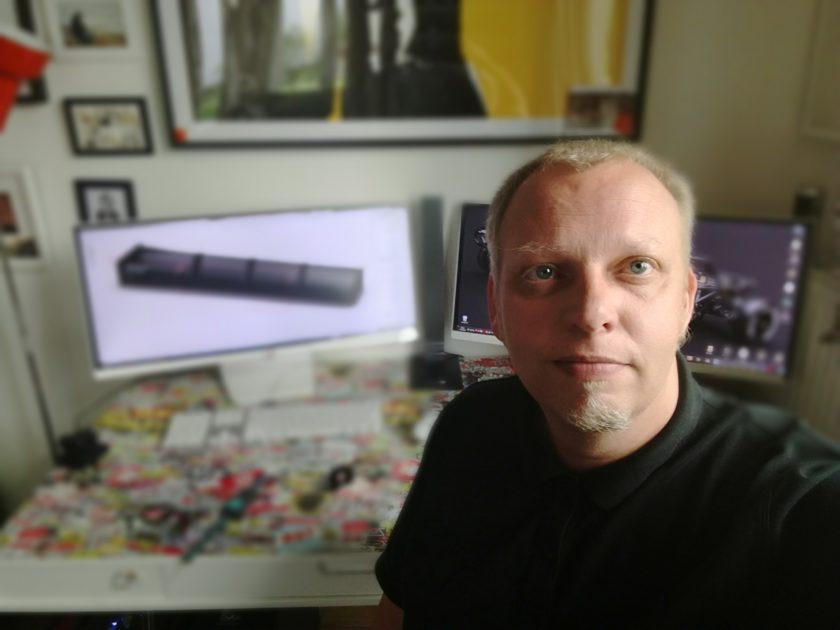 Michael Vollmer, designer of 3DRC