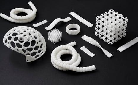3D printed in SLS