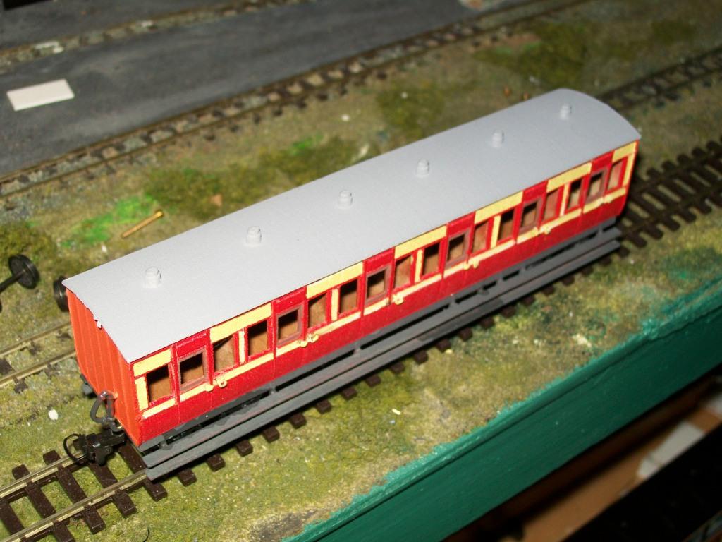 Irish Narrow Gauge Railway Carriage | Shapeways 3D Printing